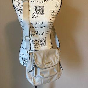 Karl Lagerfeld Paris Cara Flap Messenger Bag